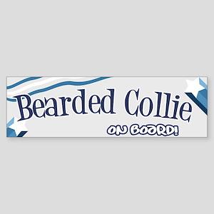 Bearded Collie Bumper Sticker Bumper Sticker