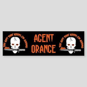 Agent Orange: The Gift Bumper Sticker