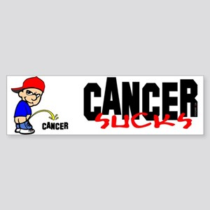 Cancer Sucks -- Sticker Bumper Sticker