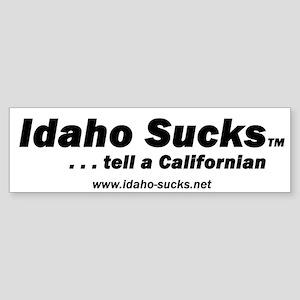 Idaho Sucks - Bumper Sticker