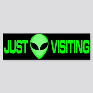 New ALIEN Themed Bumper Stick Bumper Sticker