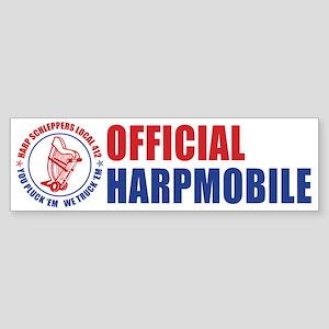 Harp Schleppers Local 412 Bumper Sticker