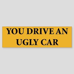 Ugly Car Bumper Sticker