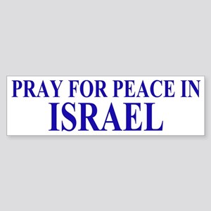 Pray for Israel Sticker (Bumper)