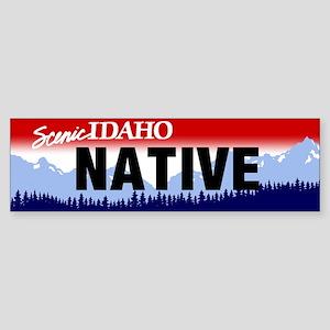 Idaho Native Sticker (Bumper)