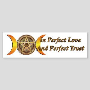 Perfect Love Sticker (Bumper)