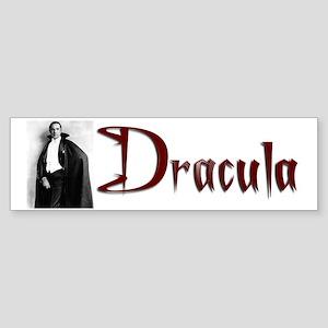 Dracula Sticker (Bumper)