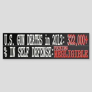 End Gun Violence Sticker (Bumper)