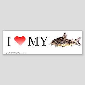 I Love My Peppered Cory Bumper Sticker