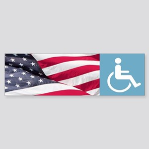 Disabld Veteran Bumper Sticker