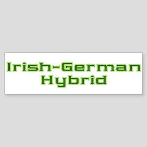 Irish German Hybrid Bumper Sticker
