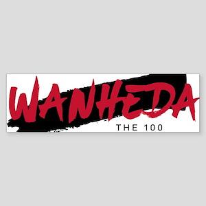 The 100 Wanheda Bumper Sticker