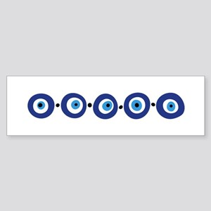 Eye Border Bumper Sticker