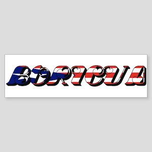 Boricua Sticker (Bumper)
