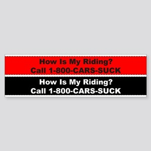 How Is My Riding Bicycle Sticker
