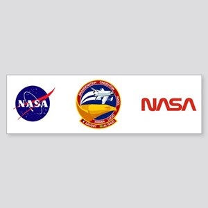 STS-51G Discovery Sticker (Bumper)