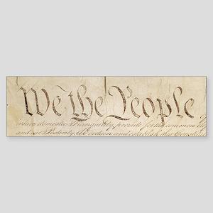The Us Constitution Sticker (Bumper)