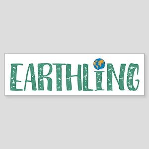 Earthling Bumper Sticker