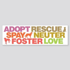 Spay Neuter Bumper Sticker