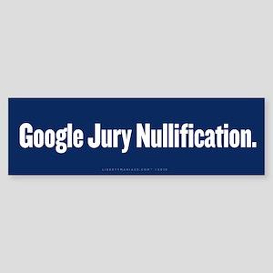 Google Nullification Sticker (Bumper)