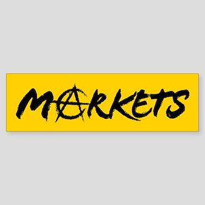 Markets Bumper Sticker