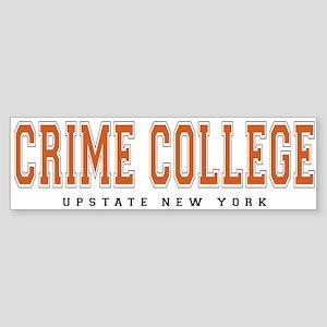 ThePulp.Net Crime College Bumper Sticker