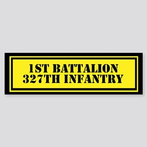 1st Battalion 327th Infantry Sticker (Bumper)