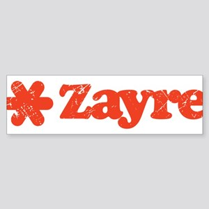 Zayre Discount Bin Bumper Sticker