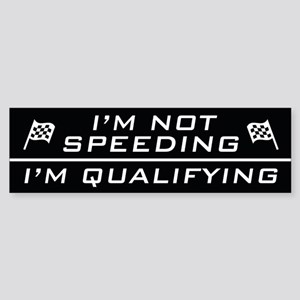 I'm Qualifying Bumper Sticker