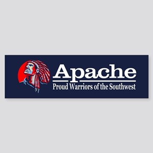 Apache Bumper Sticker