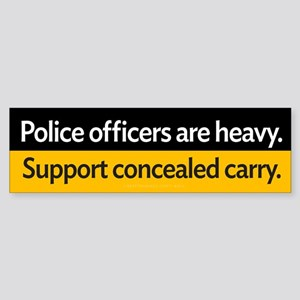 Concealed Carry Sticker (Bumper)