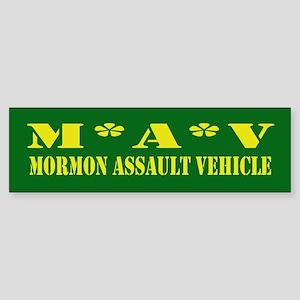 Mormon Assault Bumper Sticker