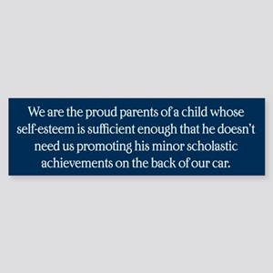 We Are The Proud Parents Sticker (Bumper)