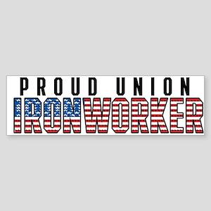 Union Ironworker Sticker (Bumper)