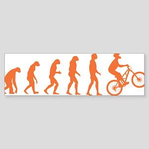 Evolution Biking Sticker (Bumper)