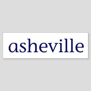 Asheville Sticker (Bumper)