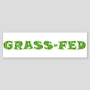 Grass-Fed Bumper Sticker