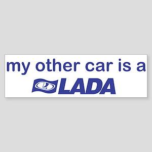 My other car is a Lada Sticker (Bumper)
