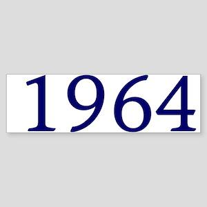 1964 Sticker (Bumper)