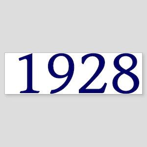 1928 Sticker (Bumper)
