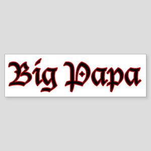 Big Papa Bumper Sticker