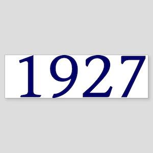 1927 Sticker (Bumper)