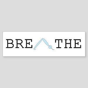 Yoga Breathe 2 Sticker (Bumper)