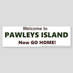 Pawleys Island Sticker (Bumper)