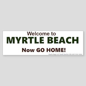 Myrtle Beach (bumper) Bumper Sticker