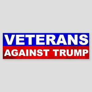Veterans Against Trump Bumper Sticker