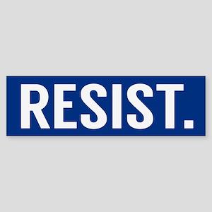 Resist Trump Anti Trump Bumper Sticker