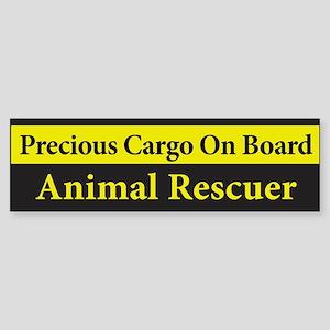 Animal Rescuer BumperSticker