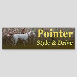 Corwyn Pointer Style & Drive Bumper Sticker
