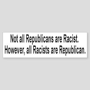 Anti-Hate Sticker (Bumper)